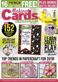 The Hobbies & Crafts website is a fantastic online resource for enthusiasts of Cake Craft, Dolls House & Miniatures, Creative Crafts, Making Cards and Parchment Craft. Parchment Craft, Making Cards, Creative Crafts, Hobbies And Crafts, Dollhouse Miniatures, Cake Decorating, January, Magazine, Create