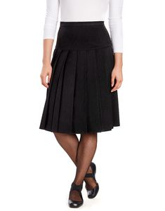 Summer Student A-Line Short Skirts Casual Strawberry Embroidery Skirt KoLan Womens Dresses Ladies Pleated Mini Skirt