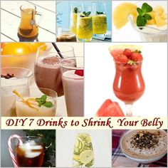 DIY 7 Drinks Which Shrink Your Belly | www.FabArtDIY.com