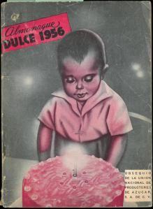 Almanaque Dulce 1956. Unión Nacional de Productores de Azúcar (Mexico). UTSA Libraries Special Collections.