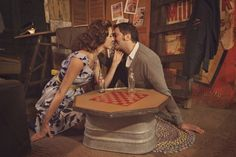 1940s styled shoot / Ella Haus Photography / Burnett's Boards