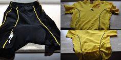 Completo Bike maglietta con porta borraccia e pantaloncino con imbottitura  marca Specialized  Maglia tg S  Pantaloncino tg M  €20,00
