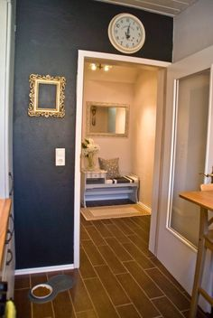 hall makeover - Pudel-design featured on @Remodelaholic