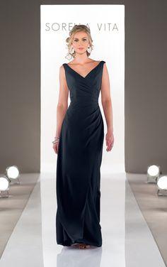 Style 8576 - V-Neck Bridesmaid Dress | Wedding Dresses | Sorella Vita