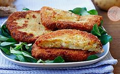 COTOLETTE DI PATATE ricetta secondo veloce al forno o fritte