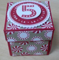 Verpackung für ein Mini-Nutella-Glas mit Anleitung auf meinem Blog.