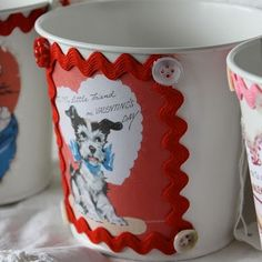 A round up of Valentine's Day Mod Podge projects