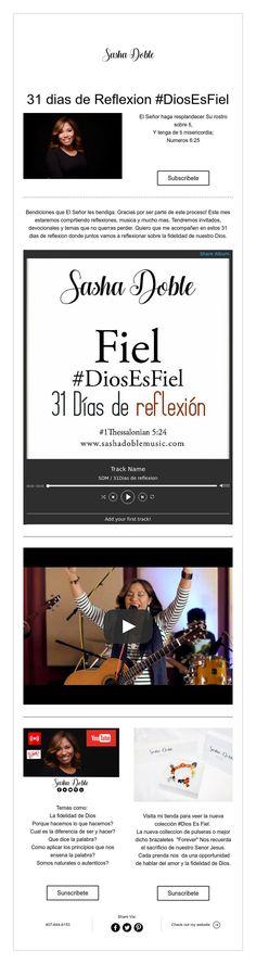 31 dias de Reflexion #DiosEsFiel