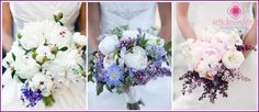 Bouquet of lilacs - a combination of ideas and options with other colors, making sovimi hands photo Bride Bouquets, Floral Bouquets, Floral Wreath, Hand Photo, Wedding Preparation, Deep Purple, Wedding Favors, Bridal, Flowers