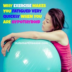 Research studied show that exercise intolerance in hypothyroid patients often cannot be resolved with thyroid medication http://outsmartdisease.com/hypothyroid-symptoms-solution/