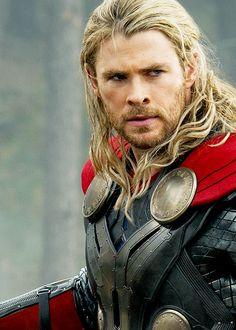 Thor... he looks like Eomer from LOTR