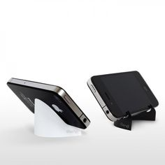 iBend - The Thinnest Stand for Mobilephones on Yellow Octopus  #giftsformen #gifts #thinnest #stand #mobile #phones