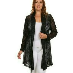 Nikkiki Cardigan- Plus Size :) too cute Sweaters Cardigans