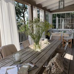Love the mornings ☀️🦀🐚 Outdoor Decor, House, Interior, Interior Inspiration, Home, Decks And Porches, Cottage Inspiration, Island Living, Cozy Place