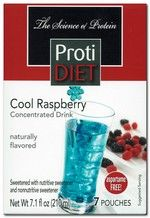 ProtiDiet Liquid Concentrate - Cool Raspberry (7/Box)