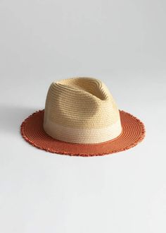 a0a41ea9fb466 And other stories Straw Fedora Hat Straw Fedora