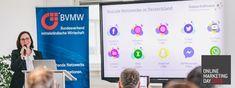 Social Media Marketing für KMU – Vortrag auf dem 2. BVMW Online Marketing Day  #socialmediamarketing #beratung Employer Branding, Blog, Social Media, Marketing, Latest Technology, Social Networks, Counseling, Target Audience, Economics