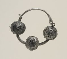 Slavic temple ring, c.1230, Kiev. © British Museum