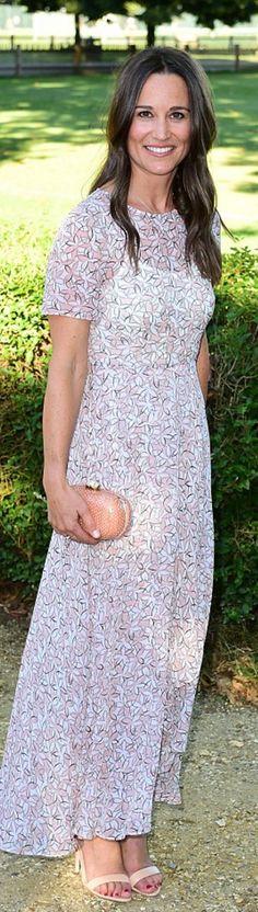 Pippa Middleton: Dress – L.K. Bennett  Shoes – Aperlaï