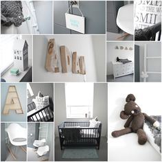 babykamer, teddy, steigerhout, eames rocket chair