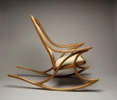 Multinotas Diseño Moderno de Mecedoras & modern wood rocking chair u2026   Chair design   Pinteu2026