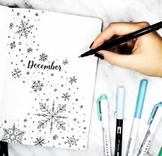 "718 Likes, 7 Comments - Planner Inspiration (@showmeyourplanner) on Instagram: ""Who else is pumped for December and cooler weather? beautiful #hellodecember from…"""