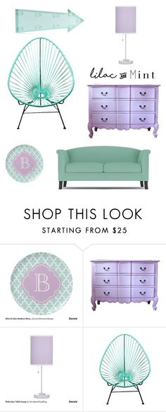 """""""Untitled #4"""" by hannah-jackson571 ❤ liked on Polyvore featuring interior, interiors, interior design, home, home decor, interior decorating, New Look, colorchallenge and lilacandmint"""