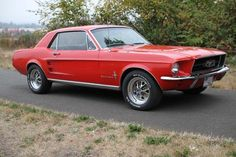 My hubby's1967 Ford Mustang Coupe - 289 V8, 4 barrel, dual exhaust.
