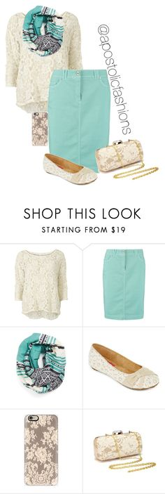 """Apostolic Fashions #1263"" by apostolicfashions on Polyvore featuring VILA, Gerry Weber Edition, Michael Stars and POP"