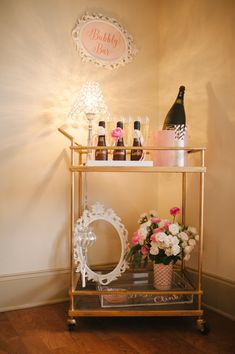 Pop, Fizz, Clink! Bridal Shower Inspiration - www.theperfectpalette.com - Design + Styling by The Perfect Palette, Lauren Rae Photography