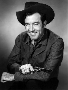 The Restless Gun was an American western television series that appeared on NBC between 1957 and with John Payne in the role of Vint . Western Film, Western Movies, Classic Tv, Classic Movies, Hollywood Actor, Classic Hollywood, John Payne Actor, Alice Faye, Men Are Men