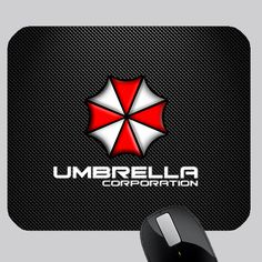 awesome UMBRELLA CORP PHOTO MOUSE PAD