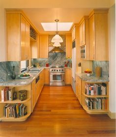 Galley Kitchens Design, Pictures, Remodel, Decor and Ideas - page 8