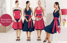 Vestidos para damas de honor <3