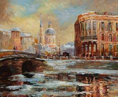 Alexey Rychkov 1968 | Russian Impressionist painter | Tutt'Art@