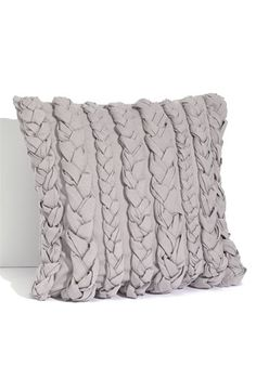 Love this- braided pillow.