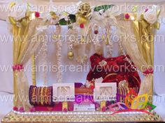 #led #gold #bridal #tray #new #collection #amis #creative #works