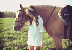 Girl + Horse