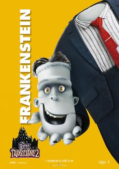 Hotel Transylvania 2 International Poster 8 Frankenstein
