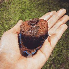 Fechando o dia 3 com chave de chocolate com banana  close nos pedaços de chocolate cremosidade pura   Pra não dizer que só tô comendo nas demonstrações de graça esse comprei no estande da Juju Vegan  #vegfest2015 #vegfestbrasil #vegfestrecife