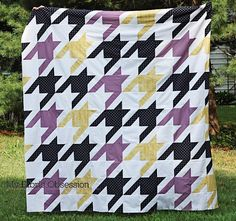 Sew Sweetness: Tula Pink Sew Along: Houndstooth
