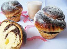 Reteta Mini cozonacei cu nuca Muffin, Breakfast, Food, Morning Coffee, Muffins, Meals, Cupcakes, Yemek, Eten