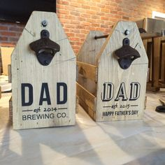 6 pack holder beer carrier wood beer caddy dad by FreestyleMom Diy Father's Day Gifts, Father's Day Diy, Gifts For Dad, Beer Caddy, Wall Mounted Bottle Opener, Diy Bird Feeder, Small Wood Projects, Fathers Day Crafts, Personalized Fathers Day Gifts