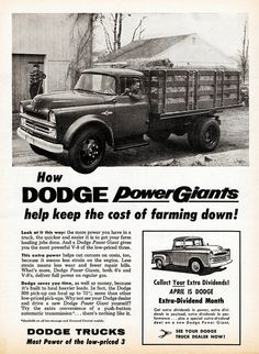 1957 Dodge Stake Truck and Pickup   Flickr - Photo Sharing!