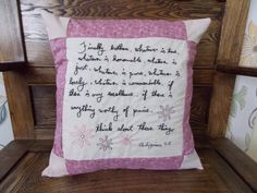 Items similar to Custom Hand Embroidered Pillow Case on Etsy : Custom+Hand+Embr. : Items similar to Custom Hand Embroidered Pillow Case on Etsy : Pillow Case Crafts, Pillow Cases, Feather Pillows, Pillow Inserts, Hand Sewing, Bed Pillows, Home Goods, Handmade Gifts, Embroidered Pillows
