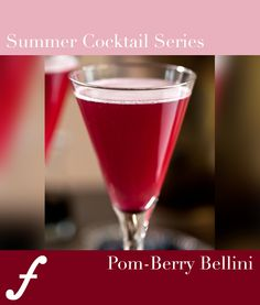 This Pom-Berry Bellini is out of this world! - Michael C. Fina Blog