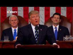 Trump da su primer discurso ante el Congreso de EEUU - YouTube