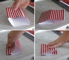 Sweet Little Parties: {create} mini popcorn boxes tutorial Soccer Birthday Parties, Birthday Party Themes, Girl Birthday, Birthday Ideas, Popcorn Bags, Free Planner, Paper Folding, Diy Box, Science Projects