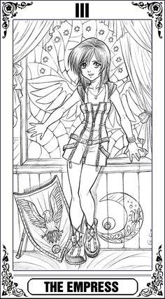 KH Tarot: The Empress by Autumn-Sacura.deviantart.com on @deviantART