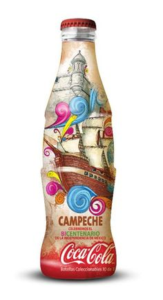 Mexico's Independence Bicentenary - Campeche, Coca-Cola - 2010